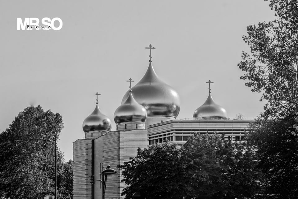 Eglise orthodox paris XVI par mrso.fr photographe paysage, architecture et immobilier à Orléans, 45, Loiret et Centre Val de Loire