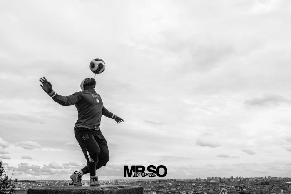 Photo d'Iya traore football freestyle artist