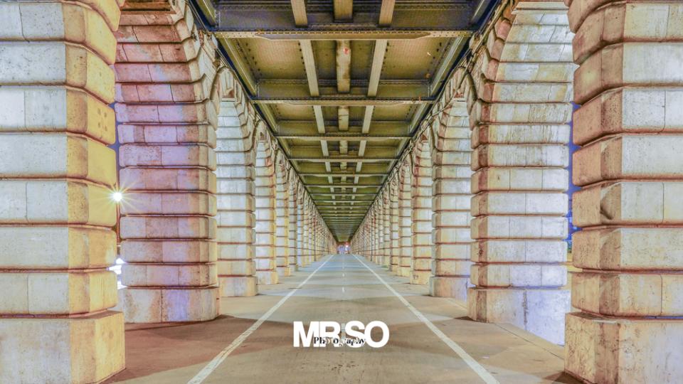 Les arcades Pont de Bercy par mrso.fr photographe paysage, architecture et immobilier à Orléans, 45, Loiret et Centre Val de Loire