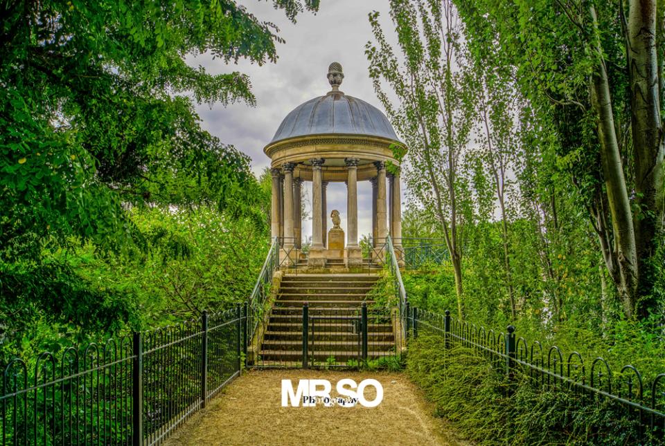 Le temple de l'amour à Neuilly par mrso.fr photographe paysage, architecture et immobilier à Orléans, 45, Loiret et Centre Val de Loire