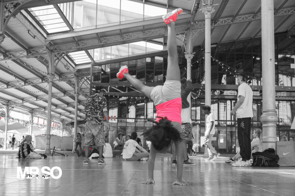 Photo de la danseuse de Hip-Hop