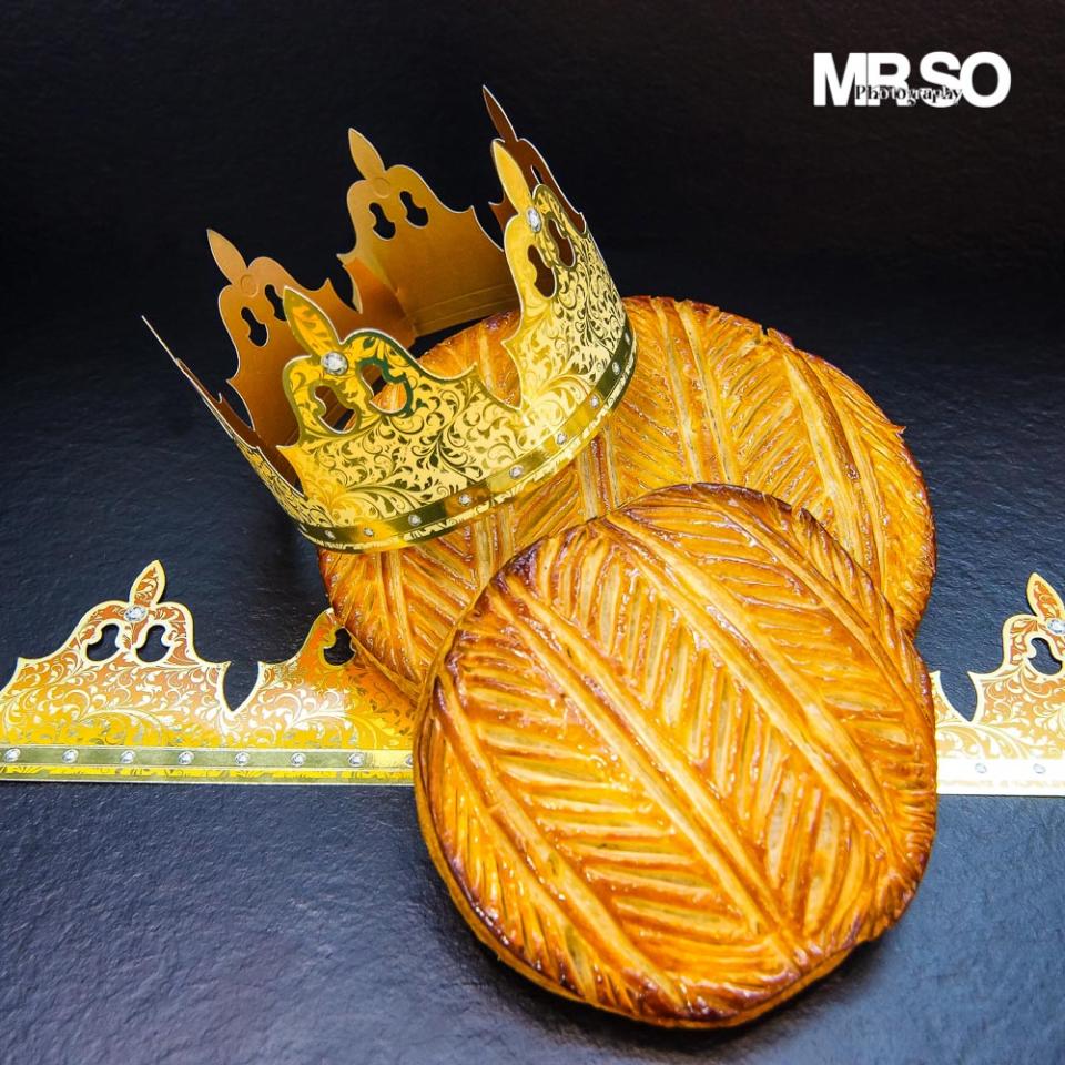 Galette des Rois de la Maison Huet Paris par mrso.fr photographe culinaire à Orléans 45, Loiret et Centre val de Loire