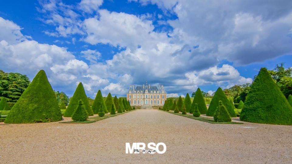 photo architecture et paysage au parc de Sceaux par mrso.fr photographe immobilier et architecture à Orléans 45, Loiret et Centre Val de Loire