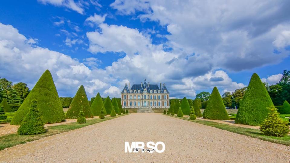 photo architecture et paysage au parc de Sceaux
