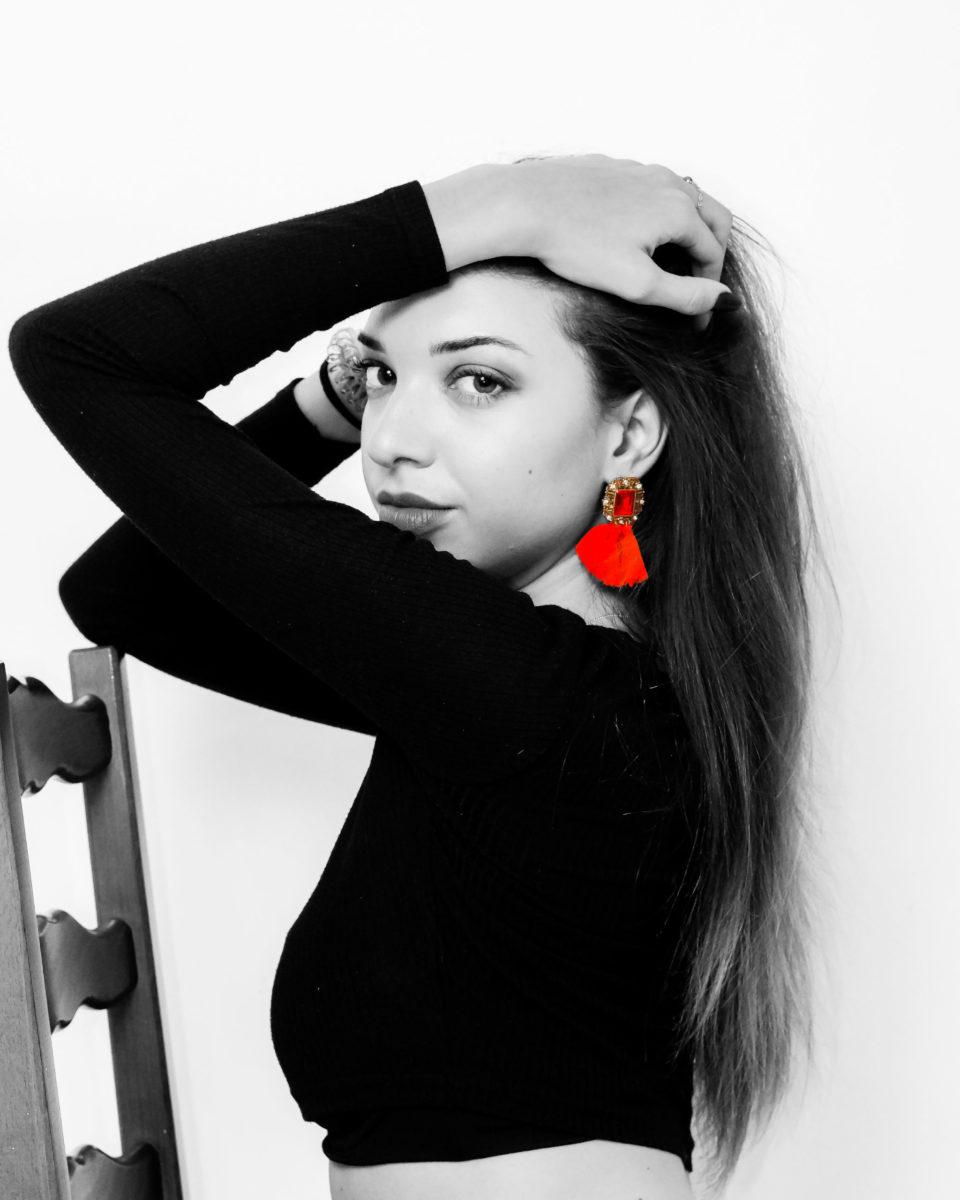 photos portrait fashion boucle d'oreille by zoreyshop